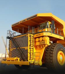 Карьерный грузовик