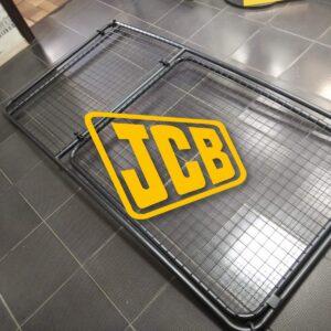 защита лобового стекла экскаватораjcb