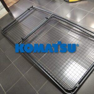 защита лобового стекла экскаватора komatsu